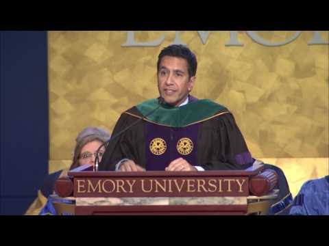 Sanjay Gupta Speech at Emory University Inauguration