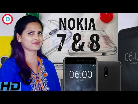 Nokia 7 & 8 Flagship Smartphone with Snapragon 660 & Dual Camera | Design & Specs Leaks