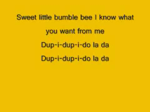 DDR - Bumble Bee (Lyrics)