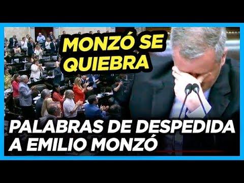 Emilio Monzó se quebró en llanto en plena sesión tras ser ovacionado por todo el Congreso