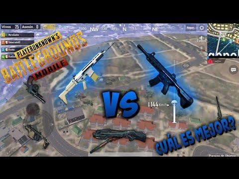 ¿Cuál es la mejor arma de PUBG MOBILE? - Daño, cadencia y retroceso de todas las armas