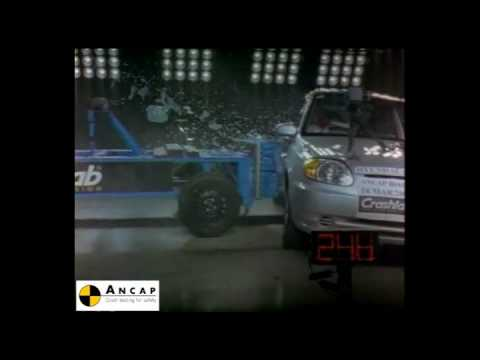 Фото к видео: Hyundai Accent 2003 ANCAP Crash Test (3 stars)