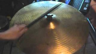 "Paiste 2002 20"" ride vs. Zildjian Vintage Avedis 20"" ride"