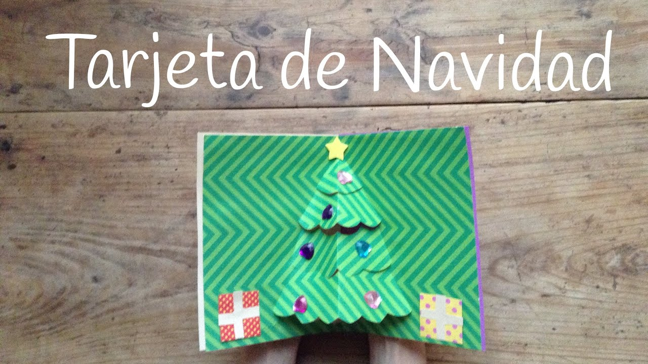 tarjetas de navidad en d un rbol de navidad sper chulo