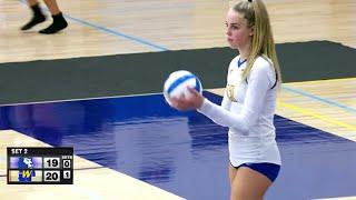 Hopkins vs. Wayzata girls High School Volleyball