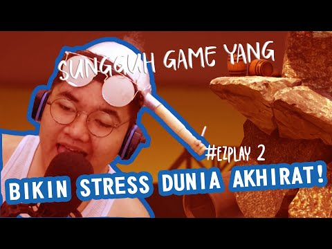 LET'S PLAY!! GAME MACAM APA INI!?? (GETTING OVER IT #1) - #FGAME 2