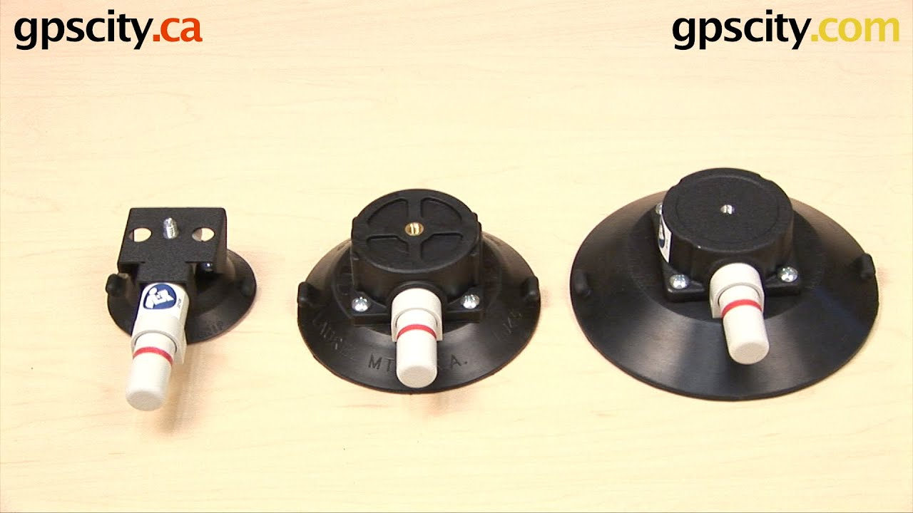 Woods Vacuum Suction Cup Comparison with GPS City - YouTube