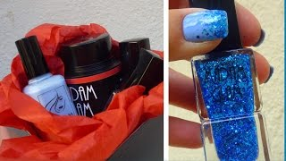Spacchetto il pacco di Madam Glam + Glitter Degrade Nails + Reviews