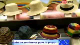 Moda de sombreros para la playa