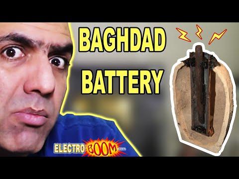 Legend of BAGHDAD BATTERY, How Batteries Work