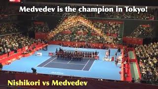 Medvedev vs Nishikori (rakuten japan open 2018 part2) 〔ジャパンオープン2018〕#28
