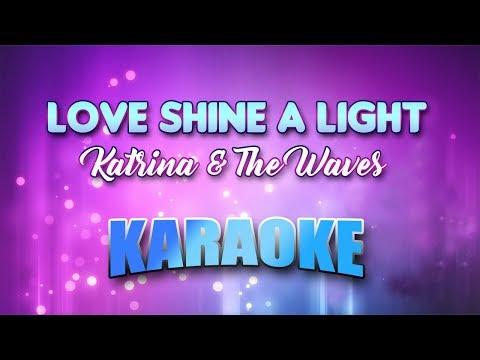 Katrina & The Waves - Love Shine A Light (Karaoke version with Lyrics)