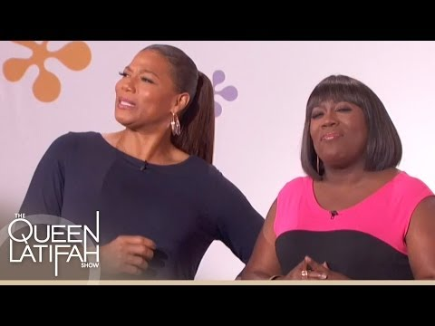Sheryl Underwood Introduced To Three Bachelors For Celebrity Dating Game | The Queen Latifah Show