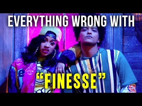 "Everything Wrong With Bruno Mars - ""Finesse [ft. Cardi B]"""