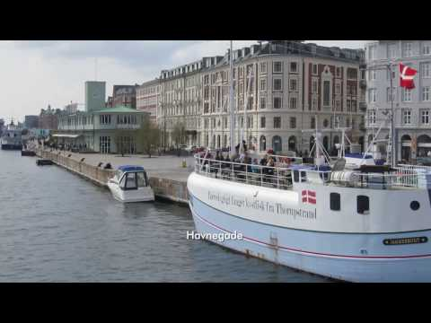 Copenhagen harbour walking tour - Nyhavn, Papirøen, Islands Brygge - April 2017