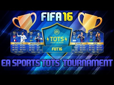 EA SPORTS TOTS CUP STREAM - SPECIAL FUT KIT PRIZE (FIFA 16)