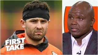 The Browns are not Super Bowl contenders – Booger McFarland | First Take