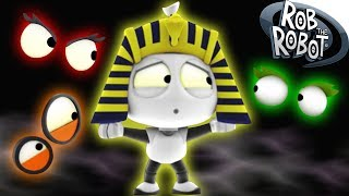Halloween Special | THE MUMMY'S TOMB | Preschool Learning Videos | Rob The Robot