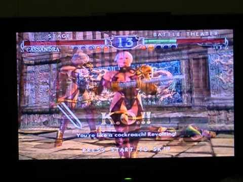 Soul Calibur 2-Cassandra vs Ivy