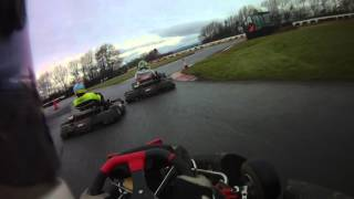 BUKC 2016 - Llandow Round 4 Race 2 onboard Cardiff A, Peter Rundle, Kart 4. Finished 4th from 21st!