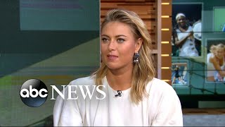 Maria Sharapova describes US Open return as 'incredible moment'