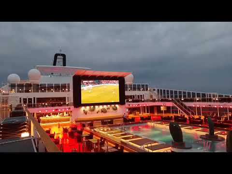 Euro 2020 Final onboard MSC Virtuosa 🇮🇹🏴Italian ship with 100% of the British guests🤭
