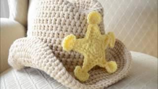 beautiful crochet cowboy hat