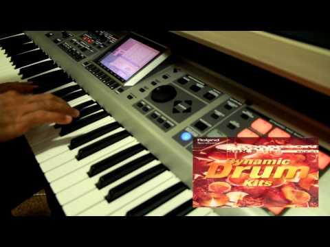 Demo Roland SRX-01 Dynamic Drums Kit