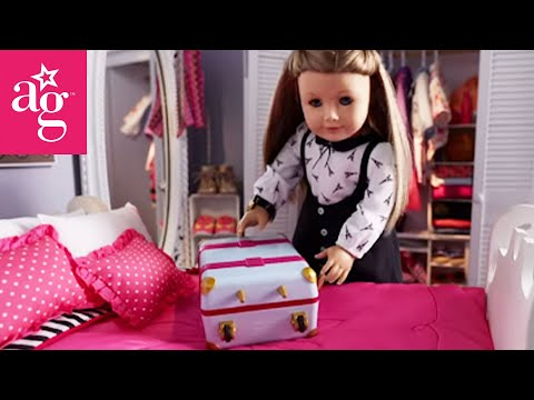 American Girl Packing For Vacation Stop Motion | American Girl
