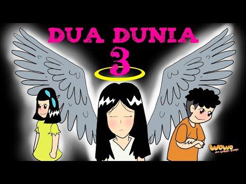 Kartun Lucu  Dua Dunia Tiga  Kartun Hantu Indonesia  Animasi Indonesia