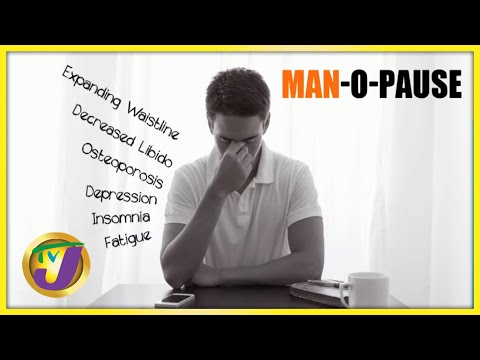 Men's Health   Signs of Andropause in Men   TVJ Smile Jamaica