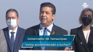 """El gobernador de Tamaulipas, Francisco García Cabeza de Vaca, dijo que ayer se enteró, """"por una filtración ilegal del coordinador parlamentario de Morena en la Cámara de Diputados"""", que la Fiscalía General de la República había solicitado su desafuero"""