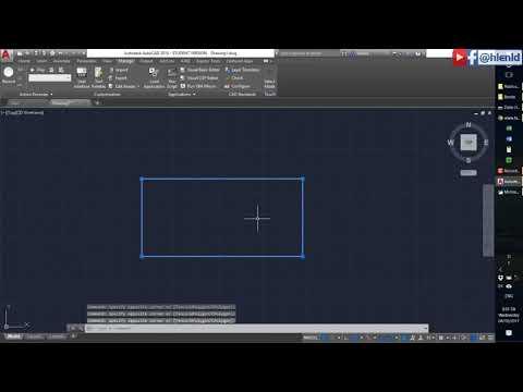 Lập trình VBA vẽ hình chữ nhật trên AutoCAD với số liệu đọc từ file Excel