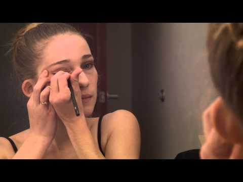 Stage Makeup For A Teenage Girl Dancer