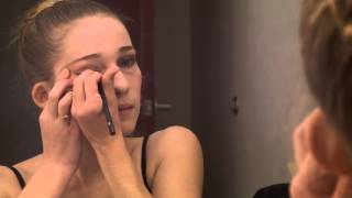 Stage Makeup for a Teenage Girl Dancer