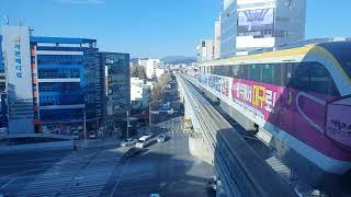 대구도시철도 3호선 311편성 용지행/칠곡경대병원 32…