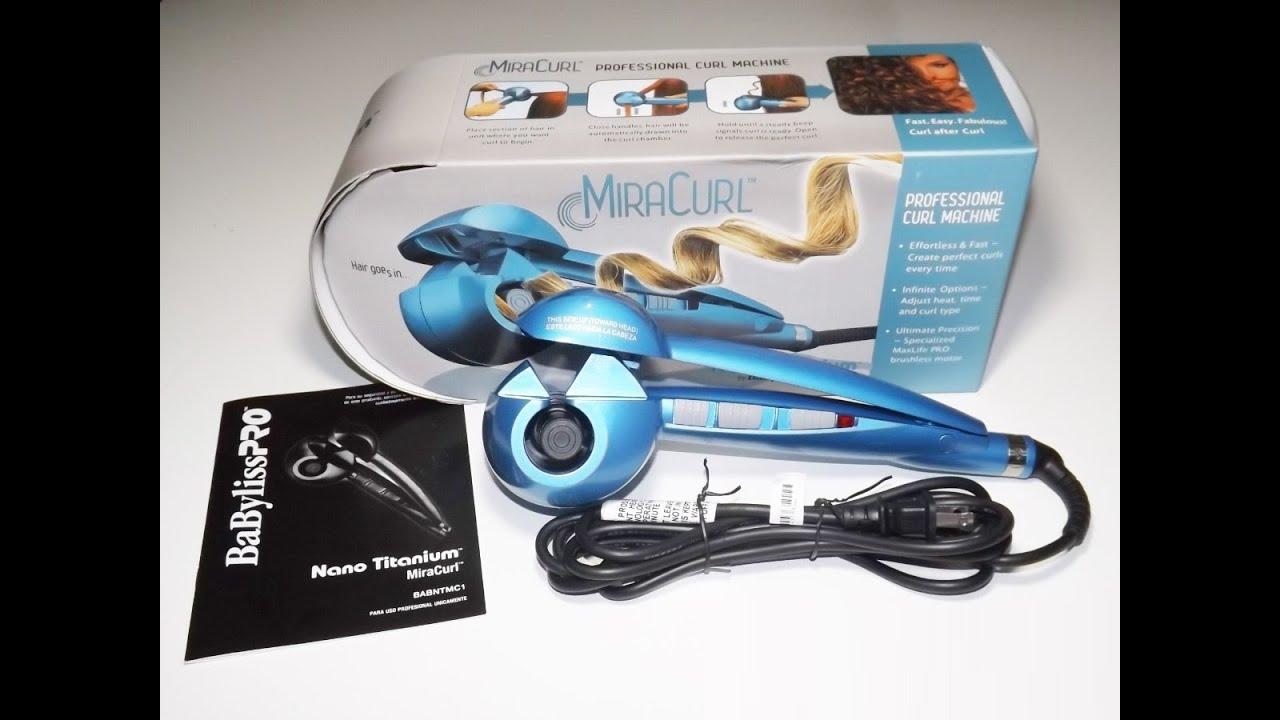 6e75e0e9d Tutorial uso de Babyliss Pro Nano Miracurl / Enrolando o cabelo em casa!