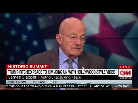 James Clapper Credits Trump For Breaking The NK Stalemate