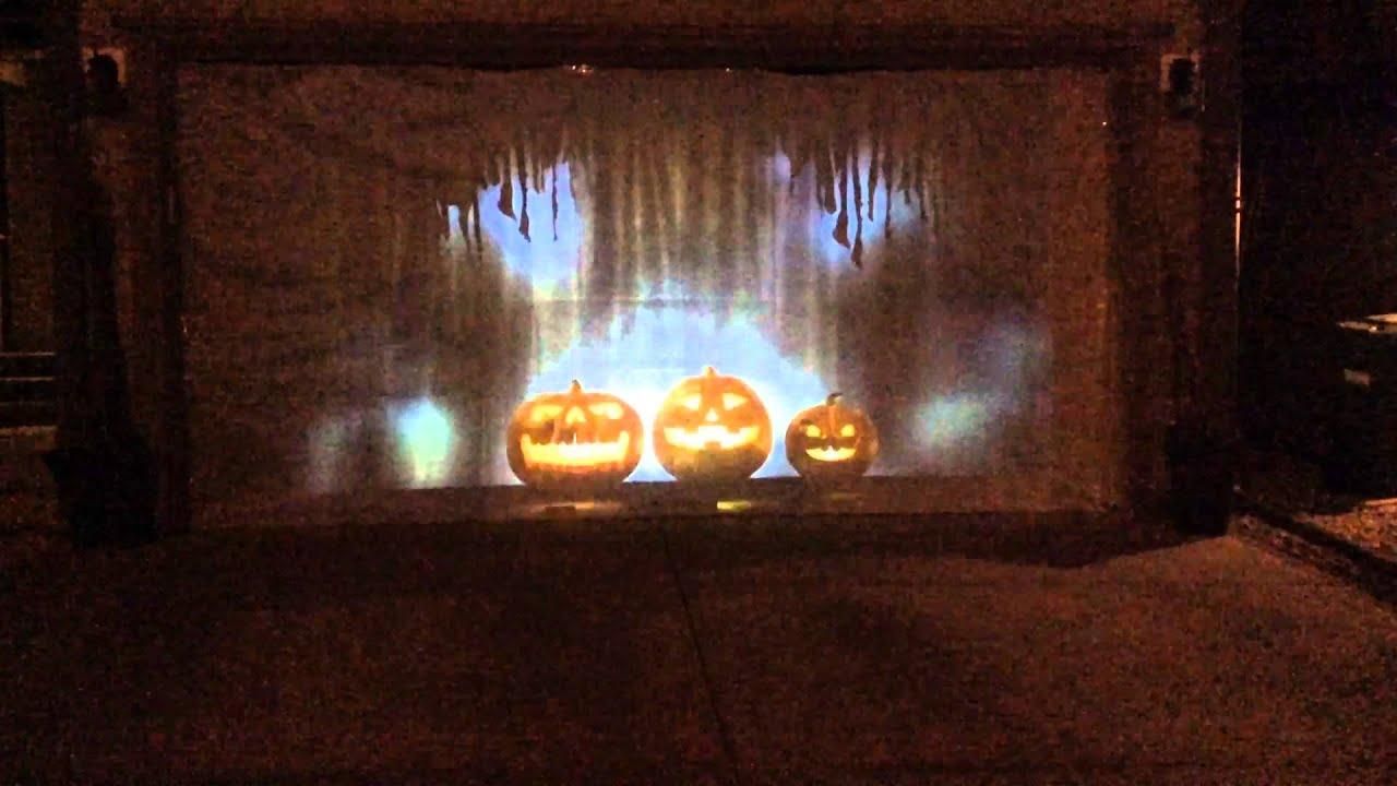 Halloween 2015 garage door display youtube halloween 2015 garage door display rubansaba