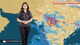 [Hindi] 21 अगस्त मौसम पूर्वानुमान: उत्तराखंड, मध्य प्रदेश, छत्तीसगढ़ में बारिश