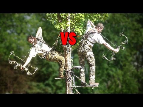 Saddle Hunting VS Tree Stand - Review