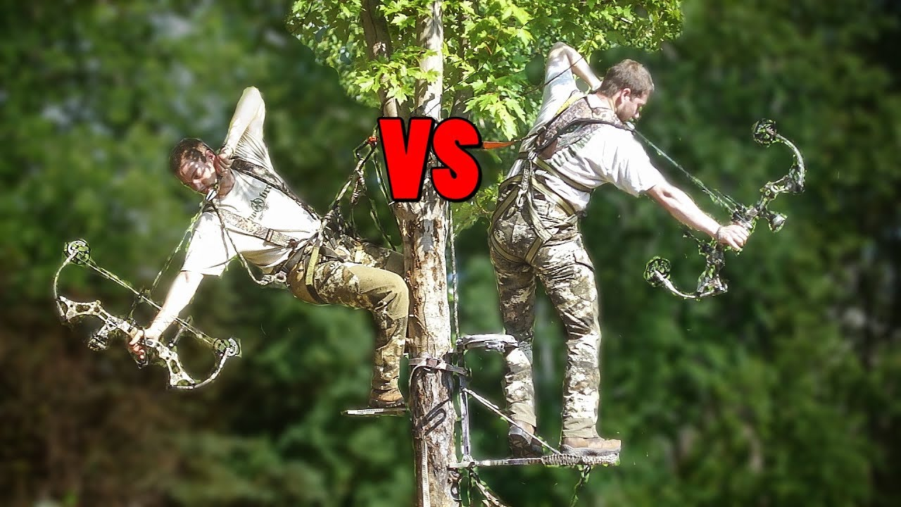 Saddle Hunting Vs Tree Stand Review Youtube