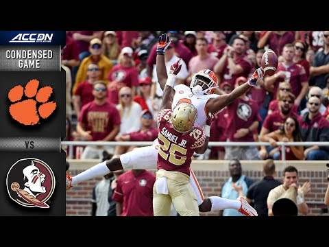 Clemson vs. Florida State Condensed Game | 2018 ACC Football