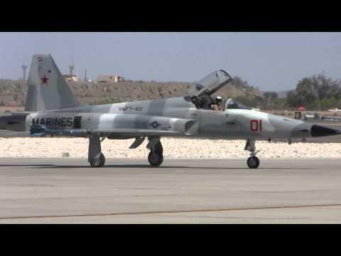 F-5 Tiger II VMFT- 401 Aggressor squadron Yuma MCAS 2014