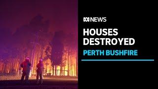 An emergency bushfire is burning out-of-control in Perth, Western Australia | ABC News
