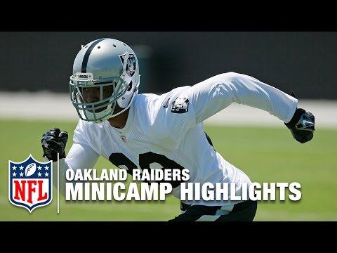 Oakland Raiders 2016 Minicamp Highlights | NFL