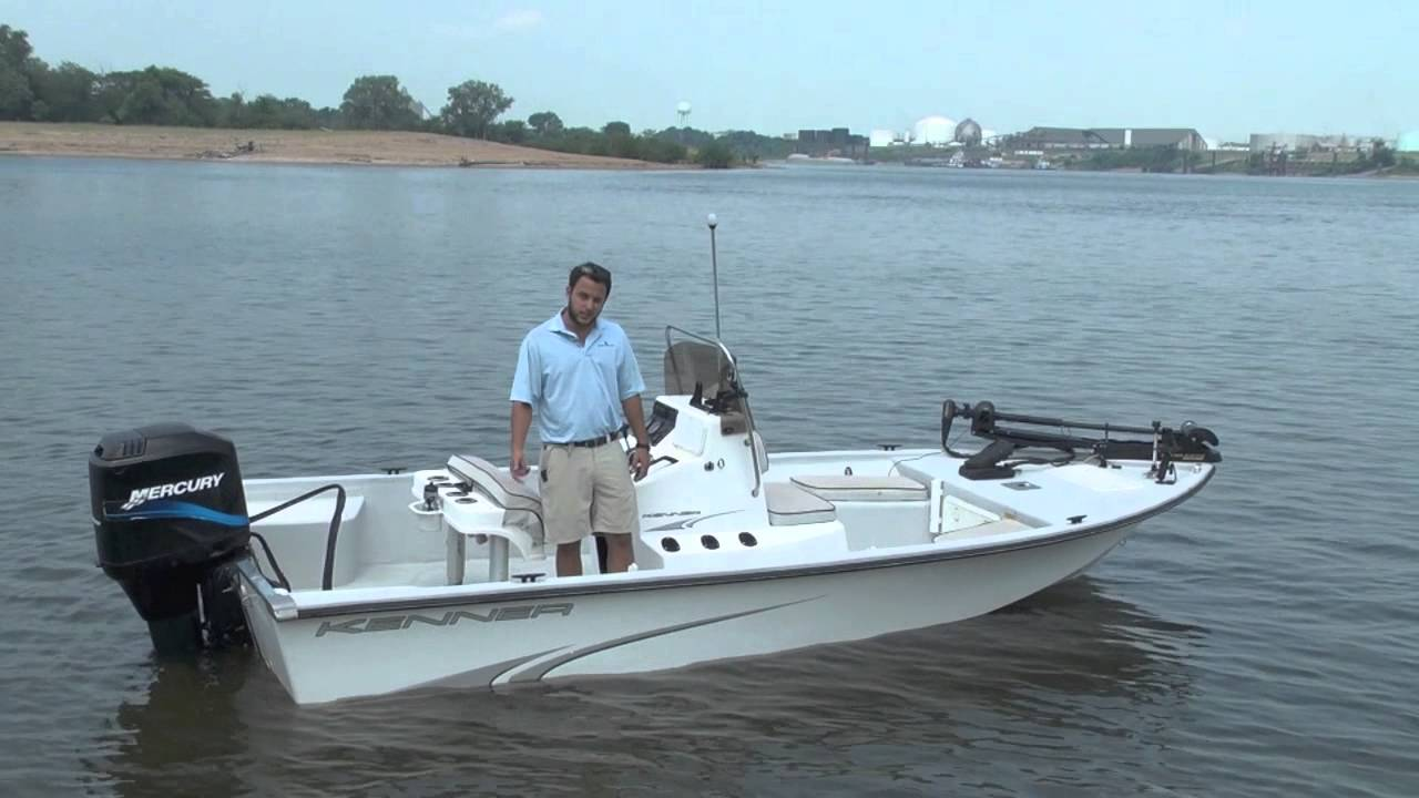 Image gallery kenner boats for Used fishing boats for sale in houston