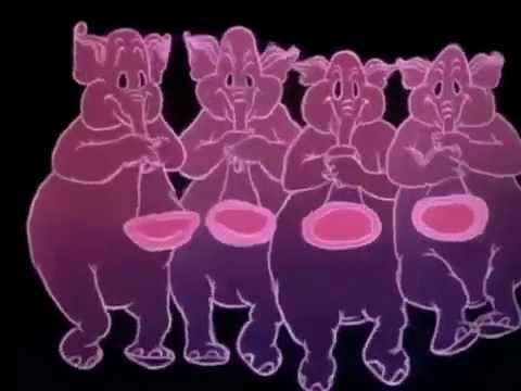 Pink Elephants - Cottonmouth Remix  Dubstep - LSD Music Video