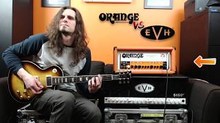 Orange Rockerverb Mk iii vs EVH 5153 (Amp shoot out)