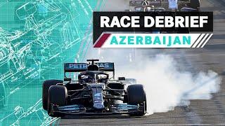 Brake Magic, Different Wings & More   2021 Azerbaijan GP F1 Race Debrief